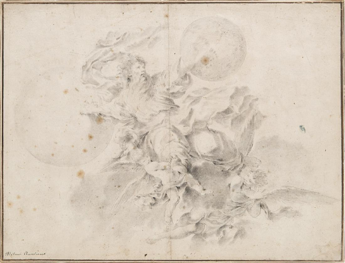 """Aureliano Milani (Bologna 1675 - Roma 1749)""""Il Santo"""