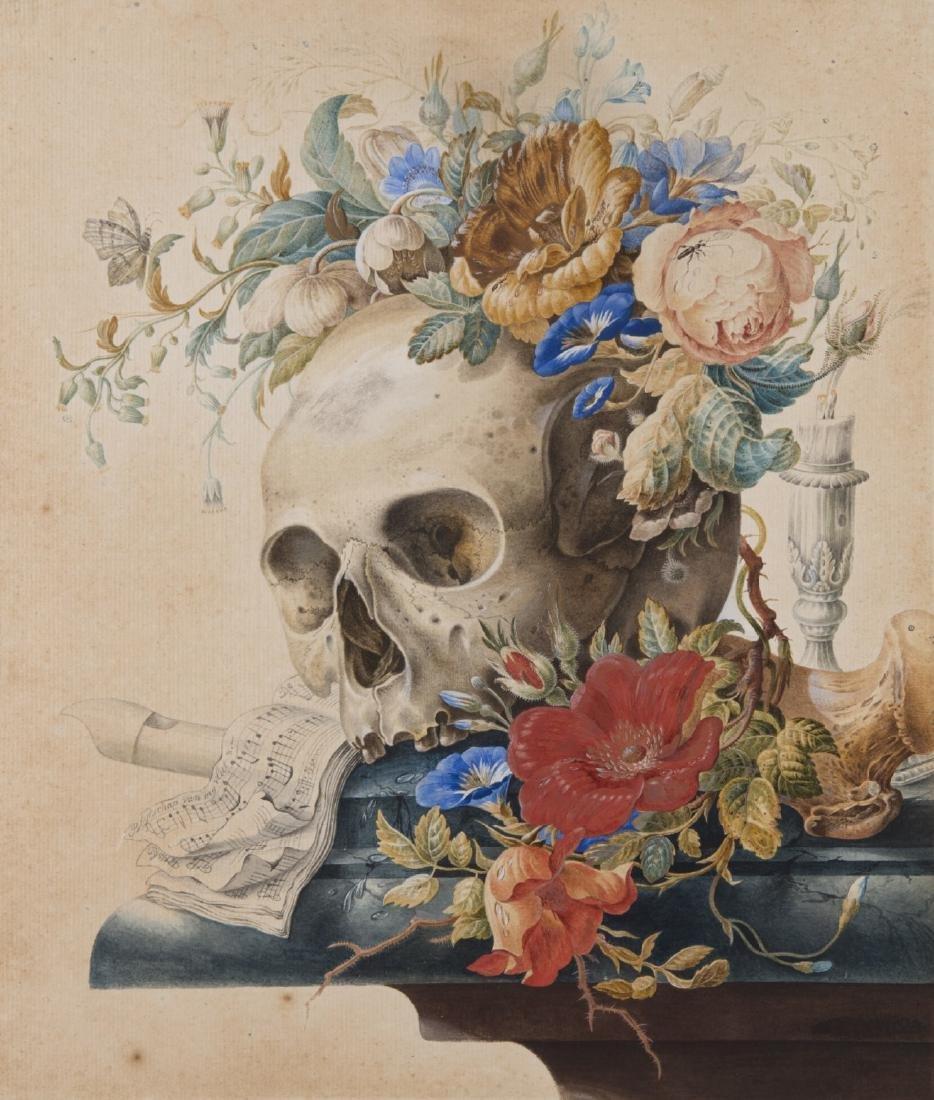 """Da Herman Henstenburgh """"Natura morta con fiori e"""
