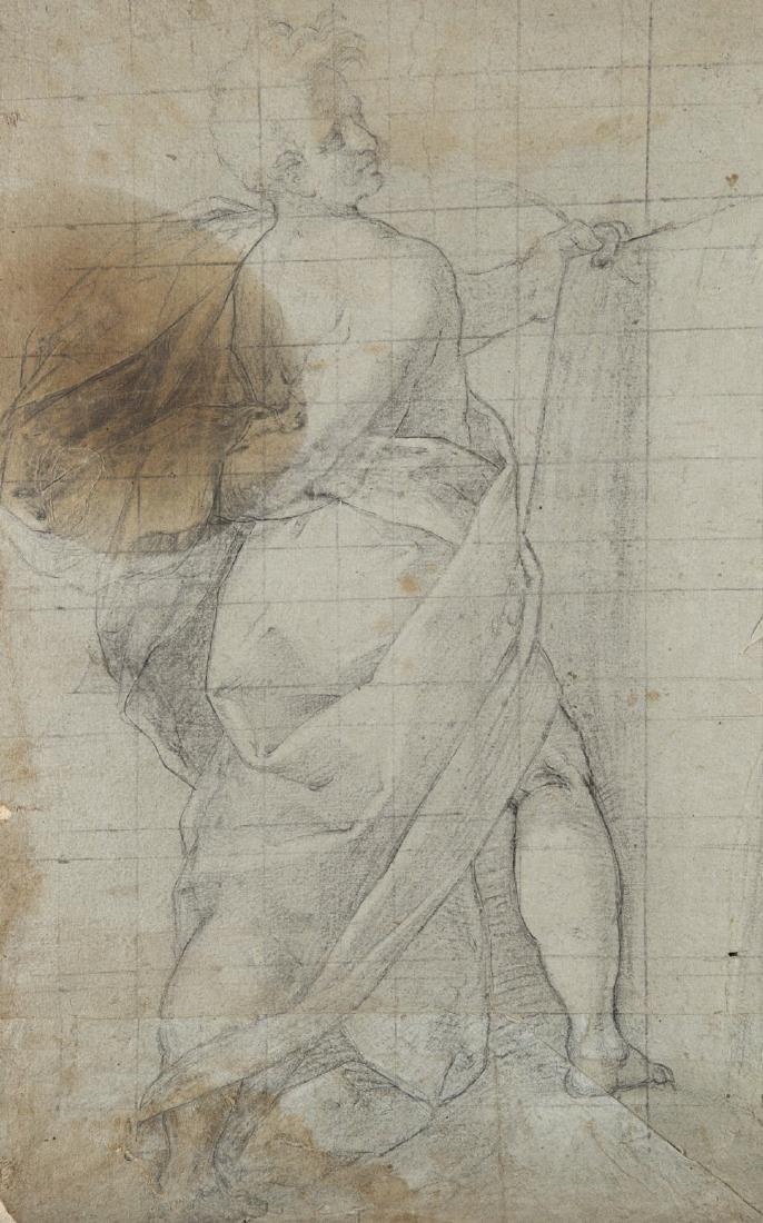 """Artista della fine del secolo XVI """"Studio di figura"""