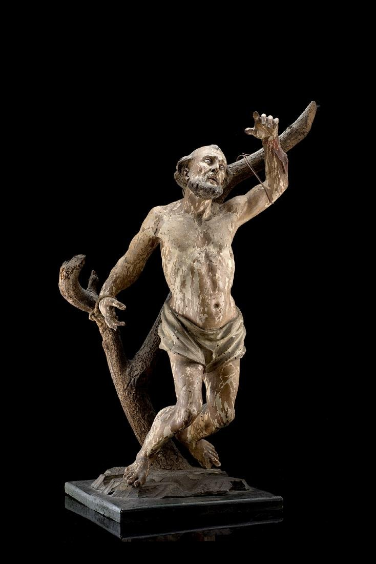 """Artista italiano dell'inizio del secolo XVIII """"San"""