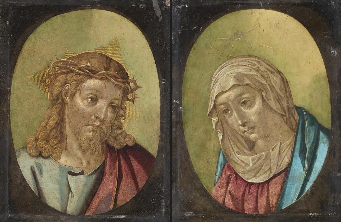 Francesco Cavazzoni (1559 - 1612)(attr.)Cristoolio su