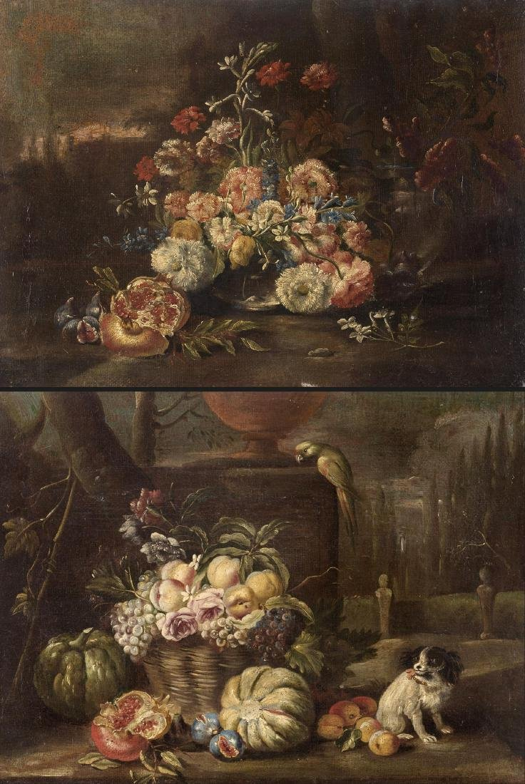 Scuola napoletana della fine del secolo XVIIIFiori con