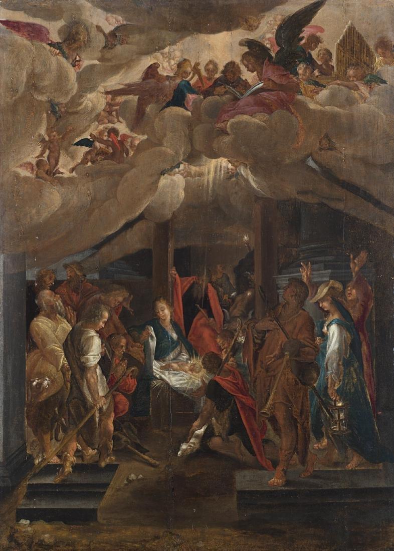 Scuola francese del secolo XVIIAdorazione dei