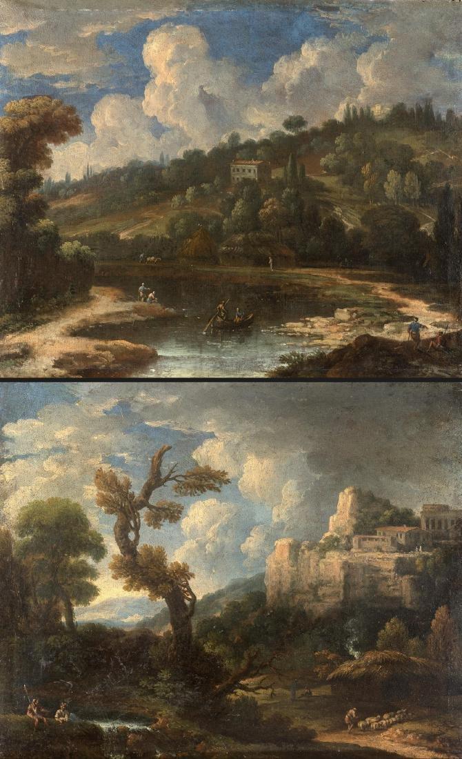 Scuola napoletana della fine del secolo XVIIIPaesaggio