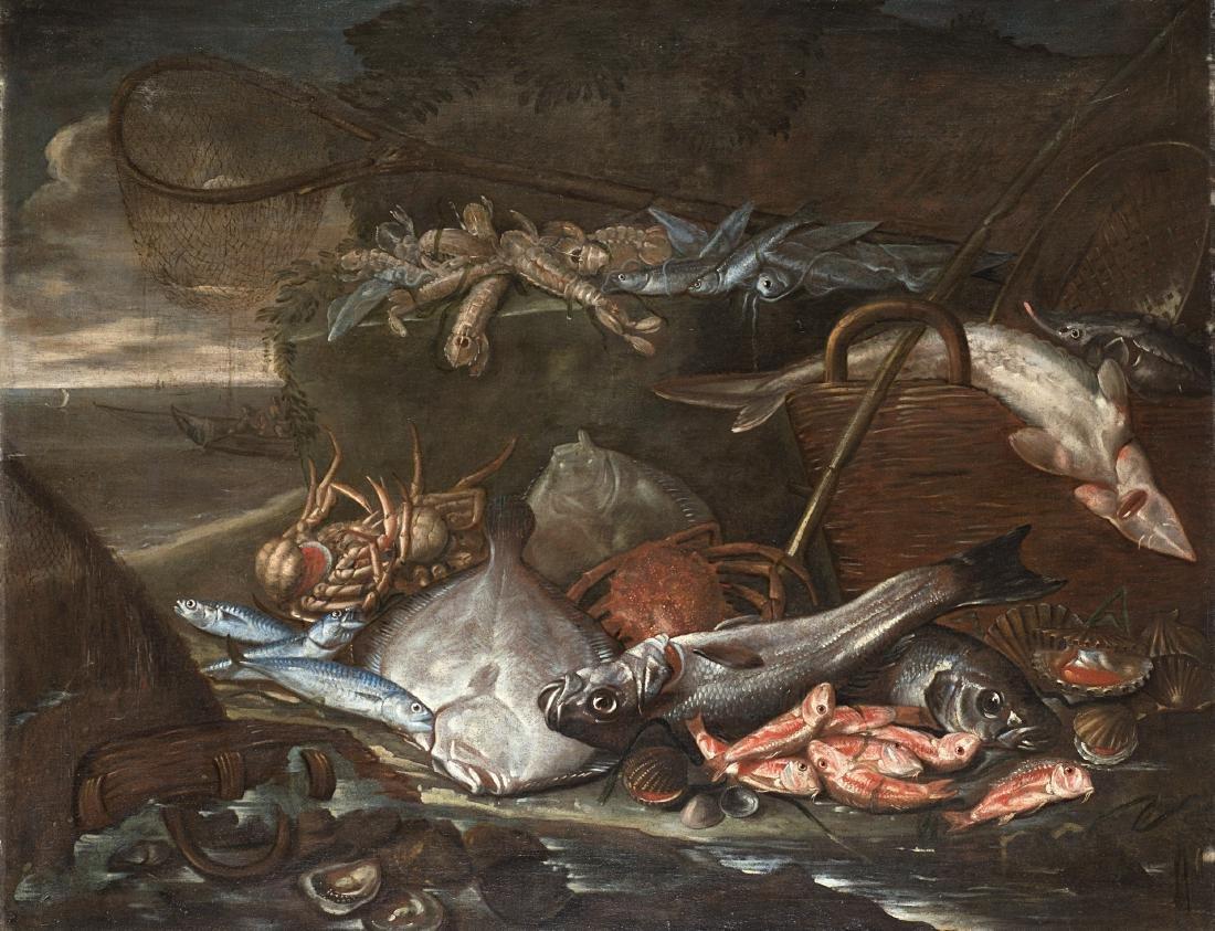 Ambito di Elena Recco, fine secolo XVII/inizi