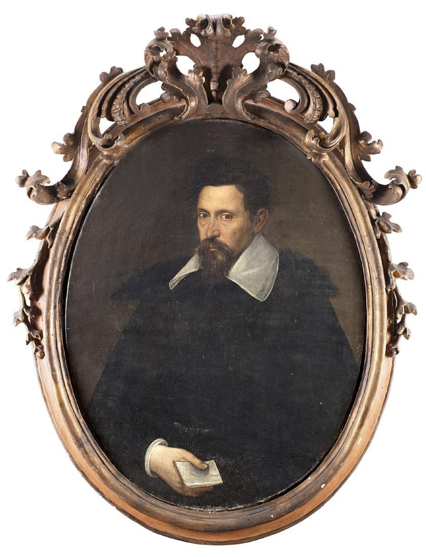 Scuola genovese del secolo XVIIRitratto di gentiluomo