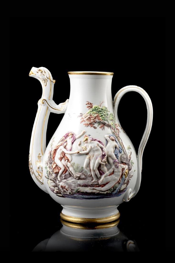 Manifattura Ginori, Doccia, secolo XVIII. Caffettiera