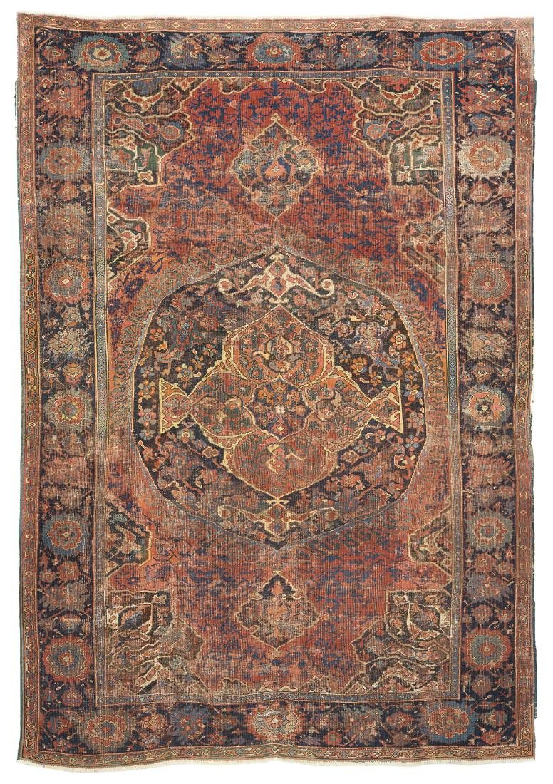 Tappeto Ushak , Anatolia, Impero Ottomano, secolo