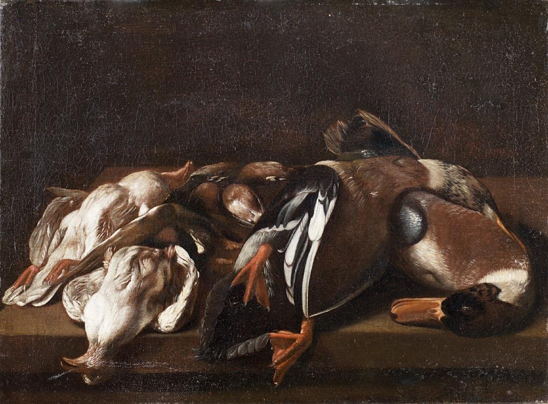 Evaristo Baschenis (Bergamo 1617 - Bergamo 1677)Natura