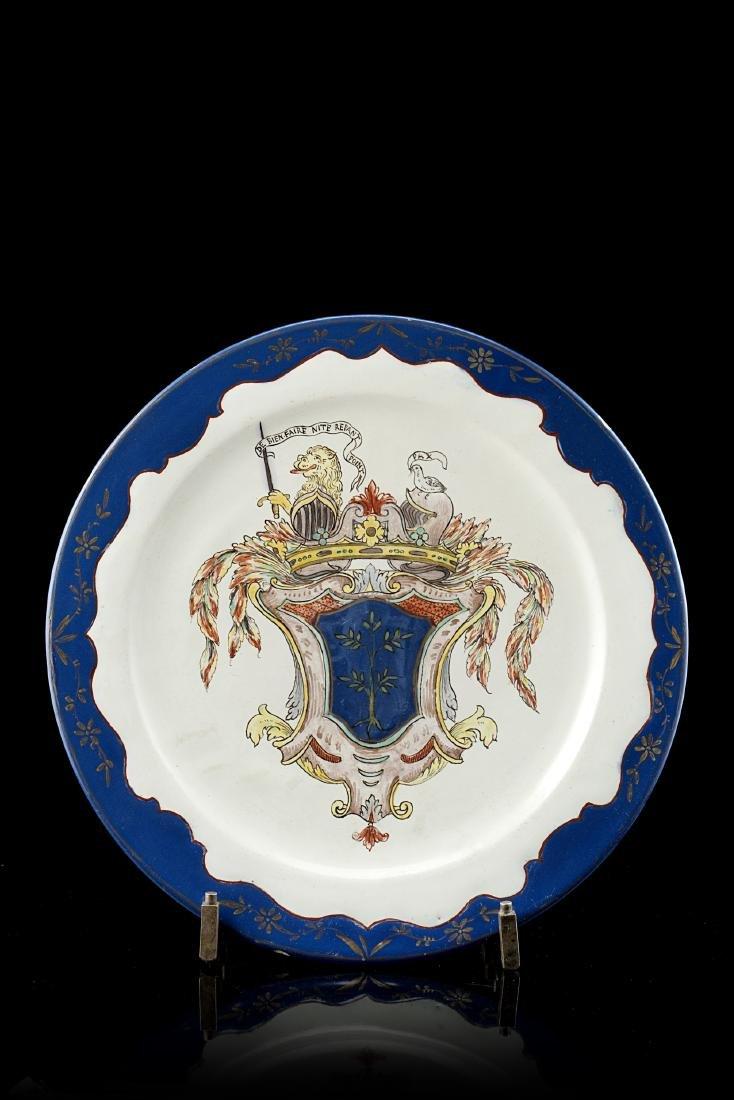 Manifattura di Pasquale Rubati, Milano 1770/80. Piatto