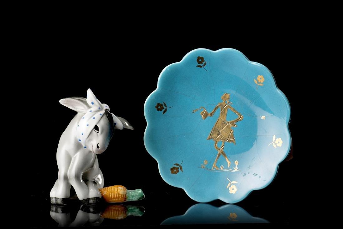 Lenci Lotto composto da una scultura di Camillo Ghigo