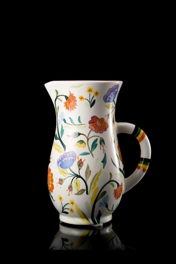 """Lenci """"Brocca""""Ceramica formata a colaggio e smaltata in"""