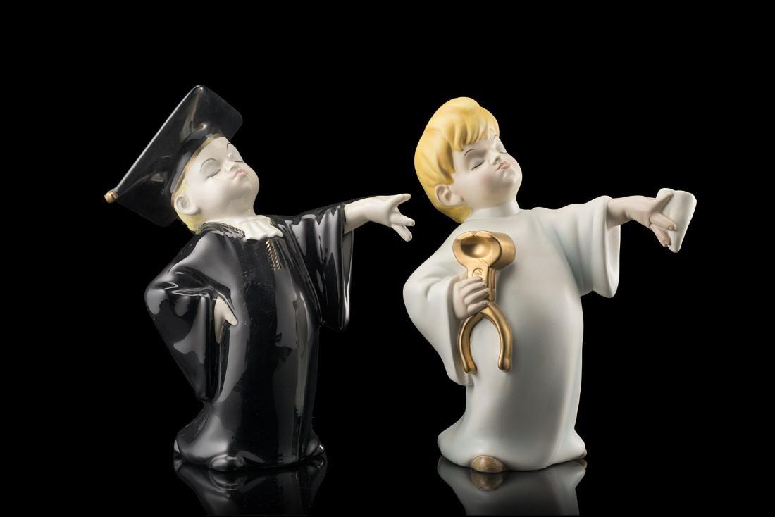 Lenci Lotto composto da una scultura di Mario Mesini