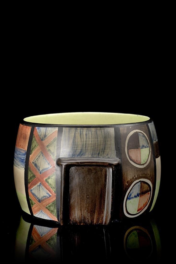 Lenci Cachepot in ceramica formata a colaggio e