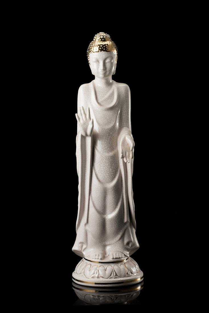 """Camillo Ghigo (Torino 1912 - Avigliana 1992)""""Buddha in"""