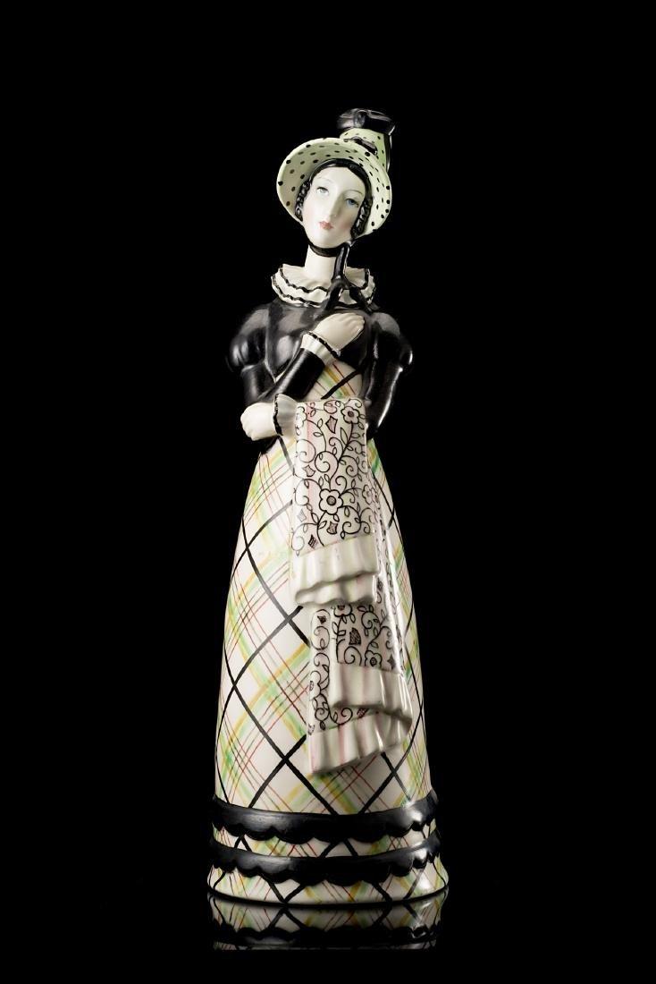 """Lenci """"Damina""""Ceramica formata a colaggio e smaltata in"""
