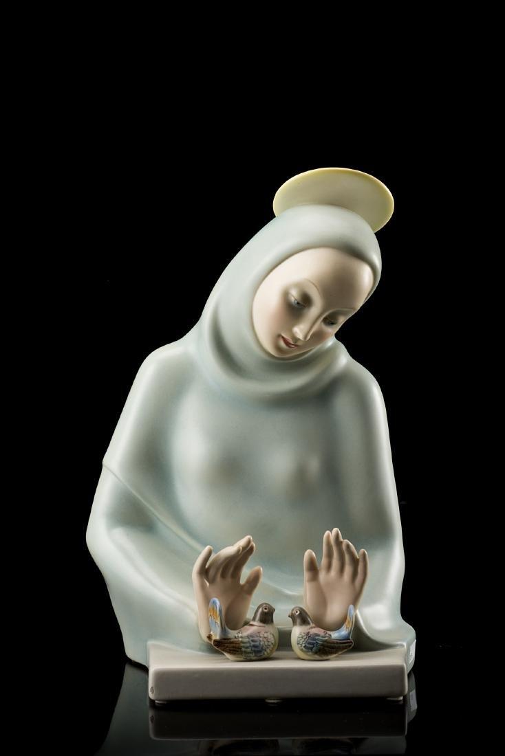 "Helen Konig Scavini (Torino 1886 - 1974)""Madonna"