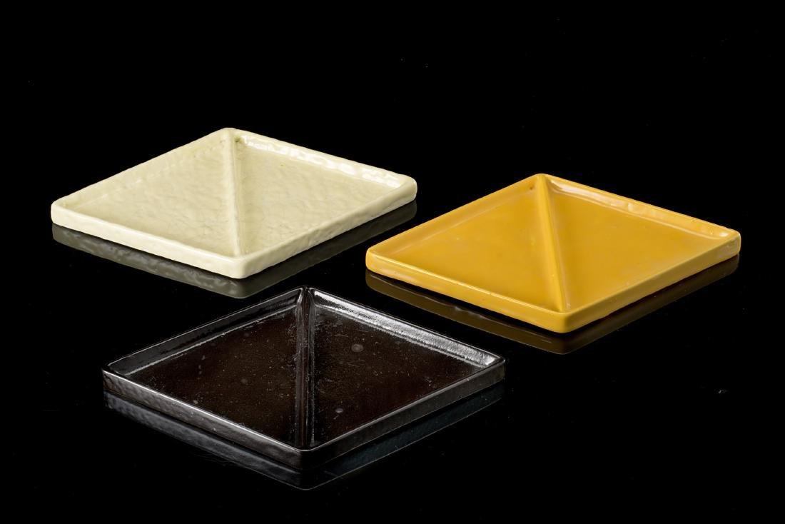 Lenci Lotto composto da tre svuotatasche in ceramica