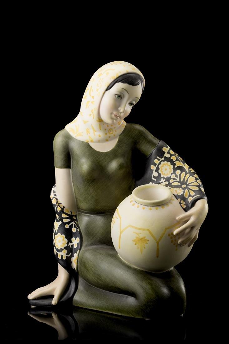"""Lenci """"Concetta""""Ceramica formata a colaggio e smaltata"""
