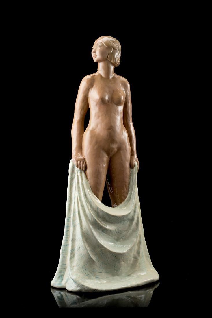 """Gigi Chessa (Torino 1898 - Torino 1935)""""Nuda con"""