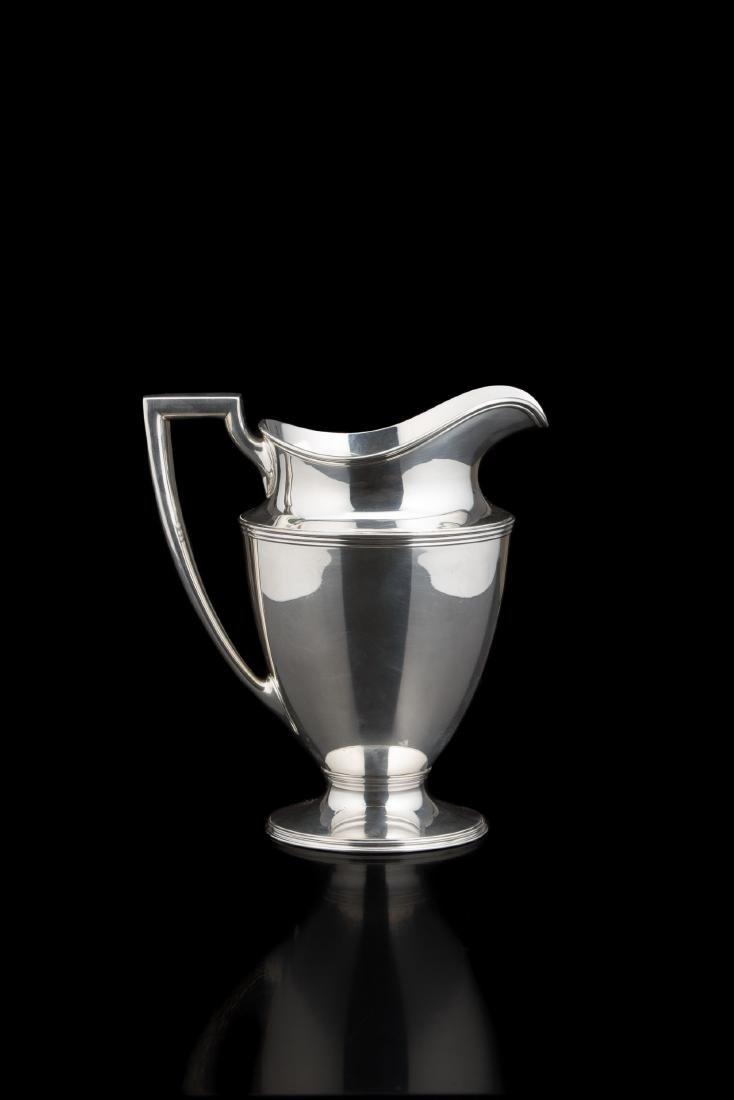 Caraffa in argento (925/1000) da quattro pinte con