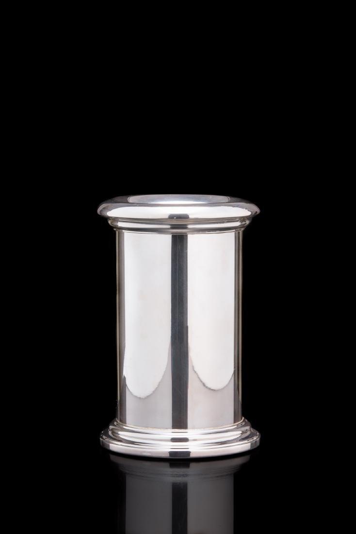 Secchiello rinfrescatoio per bottiglie in argento