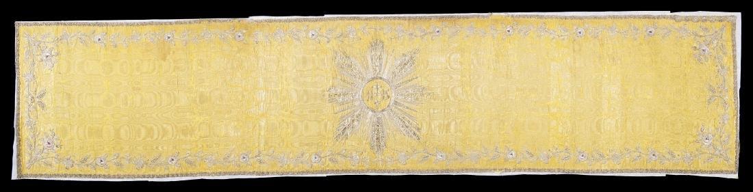 Stola , Italia, fine secolo XVIII. Tessuto in seta