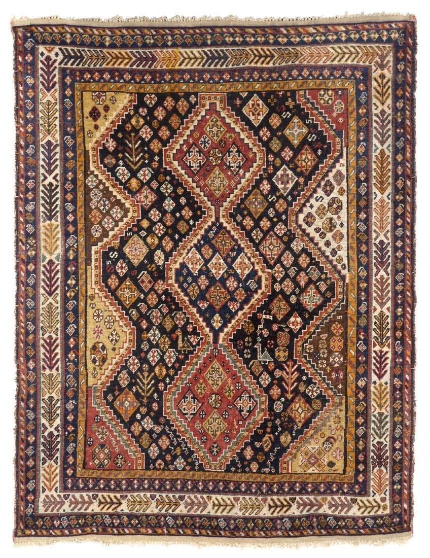 Tappeto Qashqai, Persia meridionale, fine secolo XIX.
