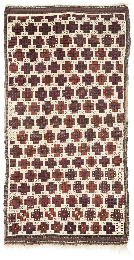 Tappeto Beluchistan, Persia, fine secolo XIX. Disegno