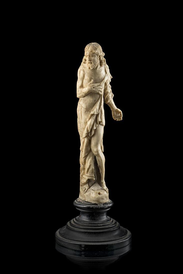 Artista del secolo XVIII. Scultura in osso intagliato a