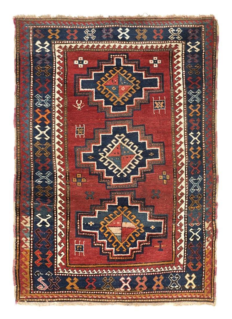 Tappeto Kazak, Caucaso, fine secolo XIX. ?Disegno con