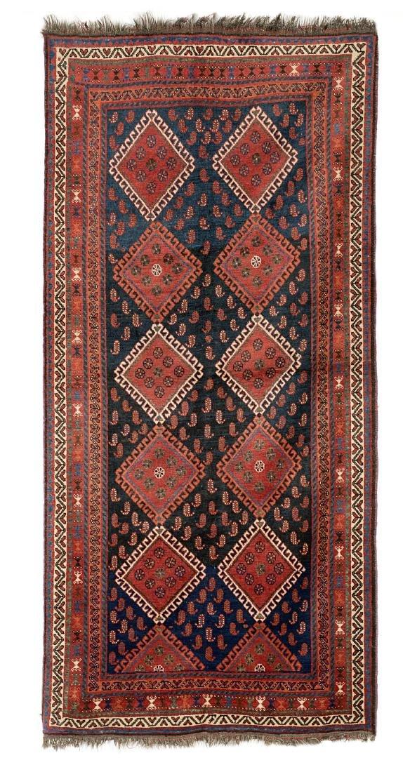 Tappeto Kurdistan, Persia, fine secolo XIX. Disegno a