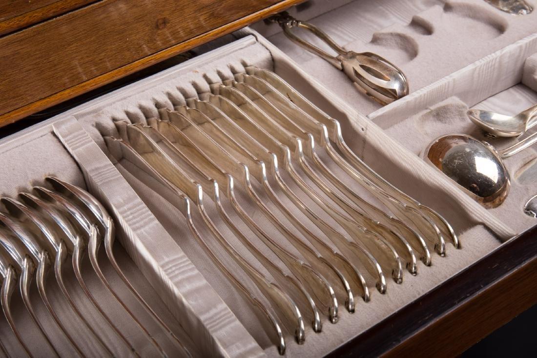 Servizio di posate in argento composto da ventiquattro - 2