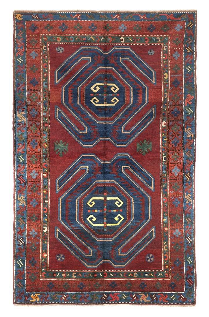 Tappeto Kazak, Lencoran, Caucaso, inizio secolo XX.