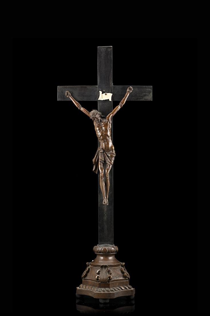 """Arte dell'inizio del secolo XVIII """"Cristo"""" scultura in"""
