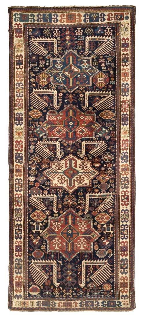 Tappeto Akstafa, Caucaso, seconda metà secolo XIX.