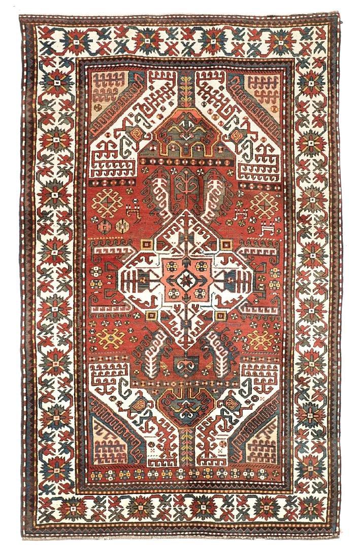 Tappeto Karabagh, Caucaso, inizio secolo XX. Disegno