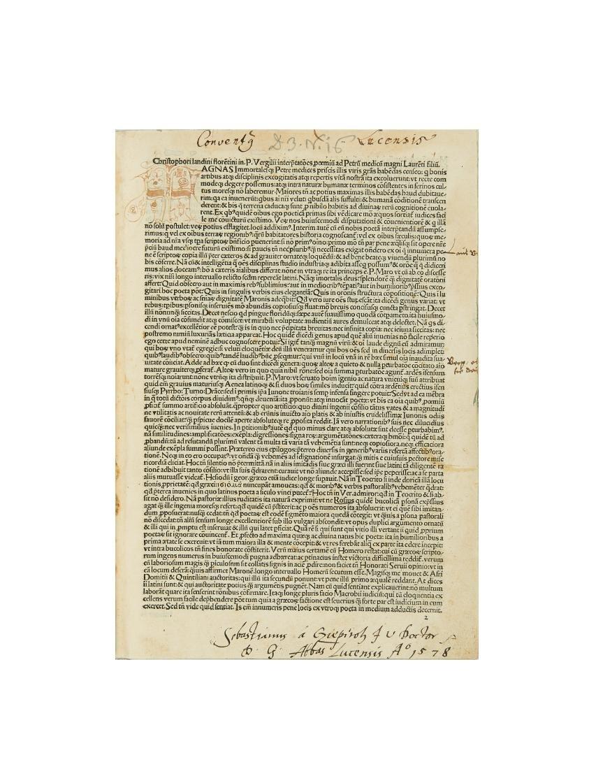 VIRGILIO, Publio Marone (70-19 a.C.) - Opera, cum