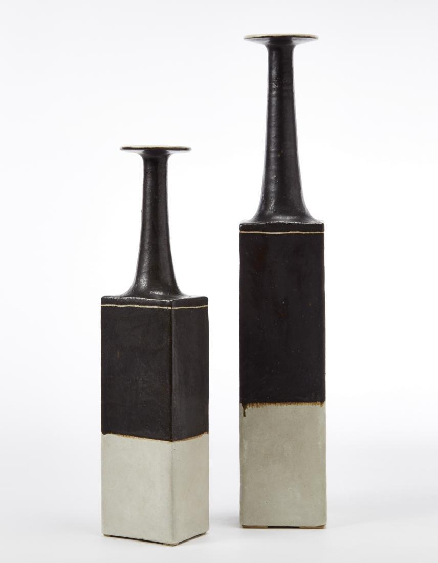 Bruno Gambone (Vietri Sul Mare 1936)Due vasi a