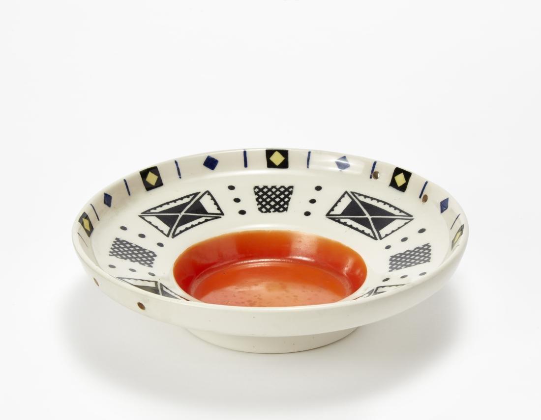 Lenci Piattino in ceramica formata a colaggio e