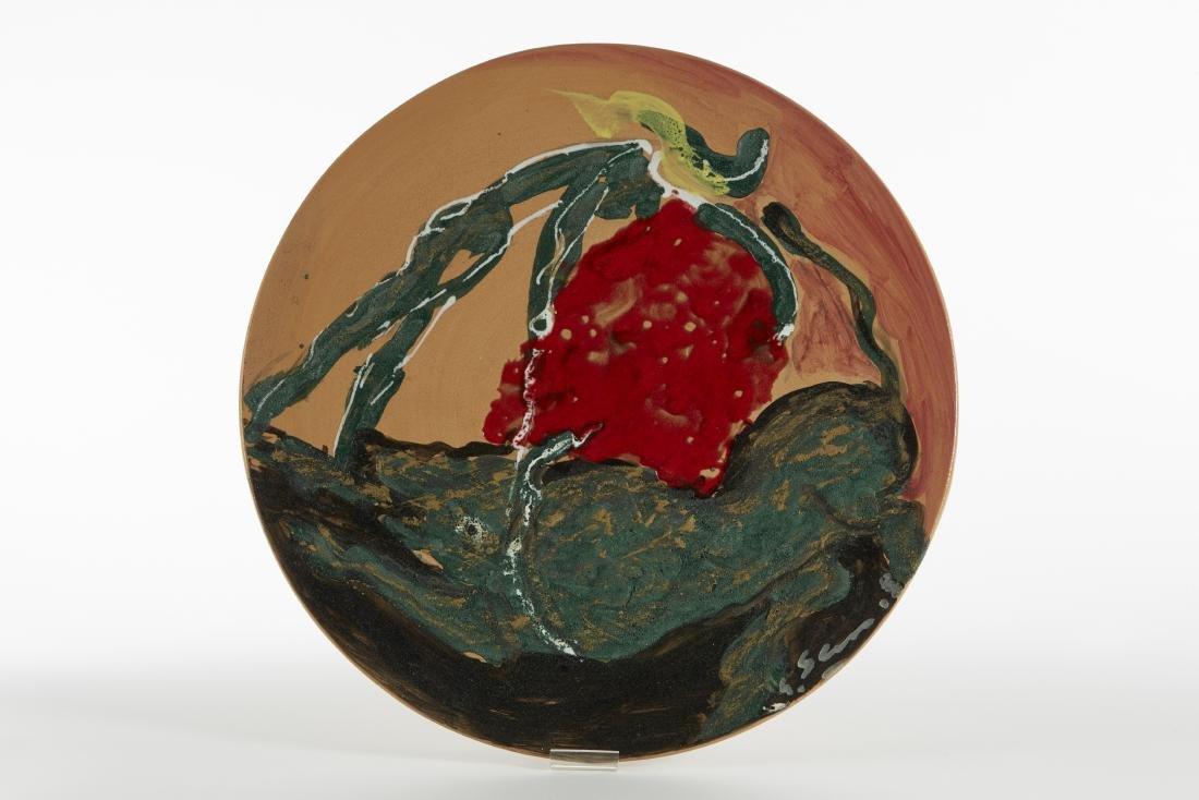 Umberto Ghersi (Albisola 1913 - Albisola 1993)Piatto in