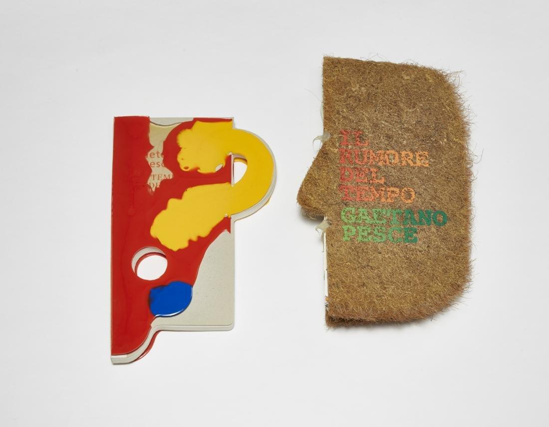 Gaetano Pesce (La Spezia 1939)Due libri d'artista. Il - 2