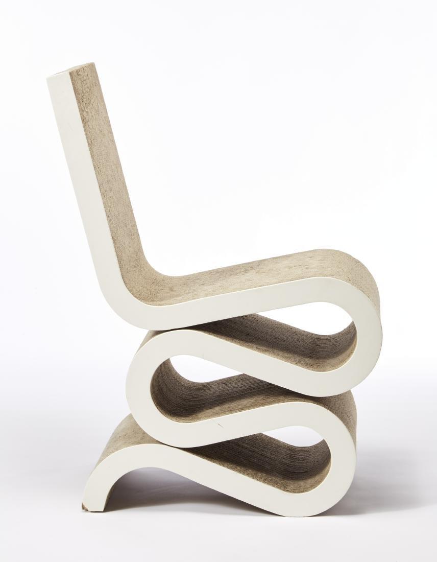 "Frank Gehry (Toronto 1929)Sedia modello ""Wiggle Side"