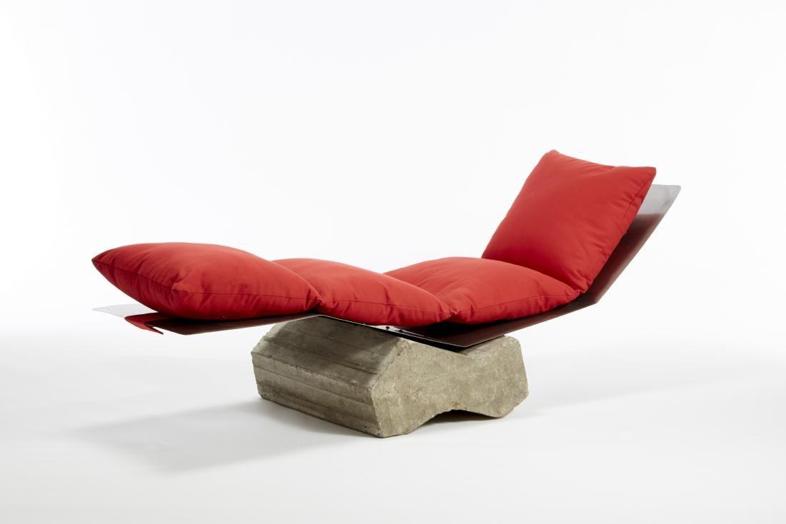 Giovanni De Lucchi Coppia di chaise longue modello