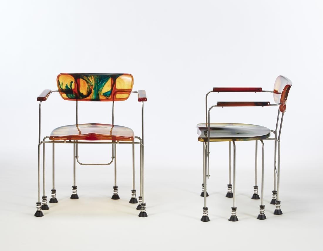 Gaetano Pesce (La Spezia 1939)Due sedie a braccioli