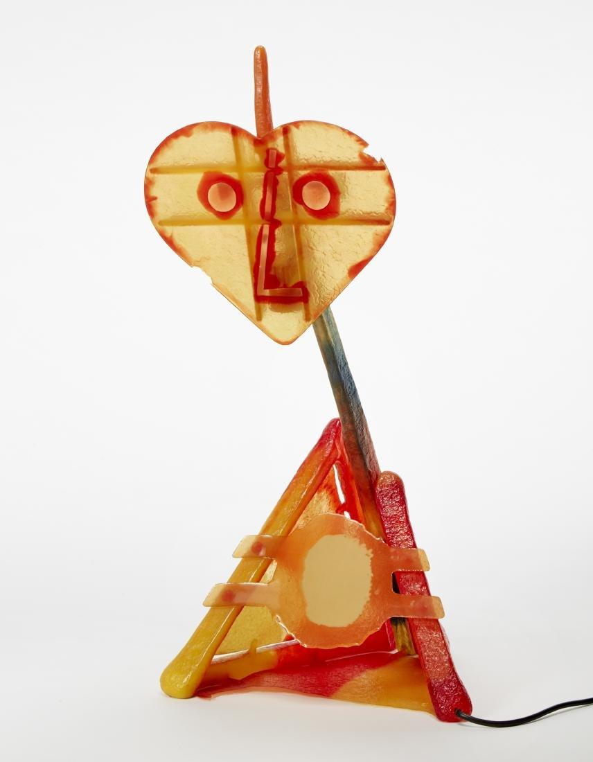 Gaetano Pesce (La Spezia 1939)Lampada da tavolo modello