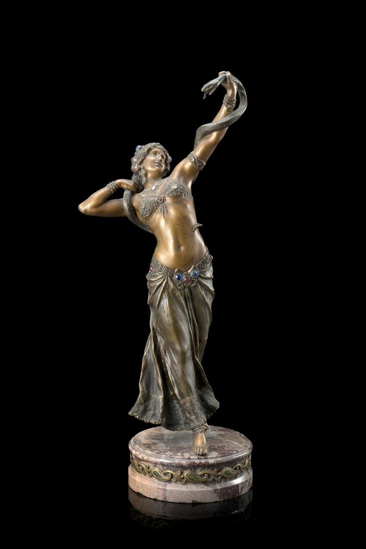 """Cleopatra""Sculpture. France, late XIX/early XX"