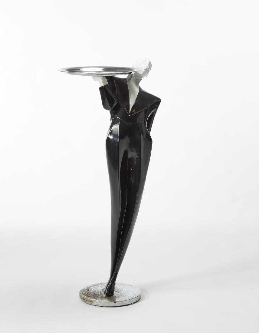 """""""Maggiordomo""""Art déco vide-poches sculpture. 20th"""