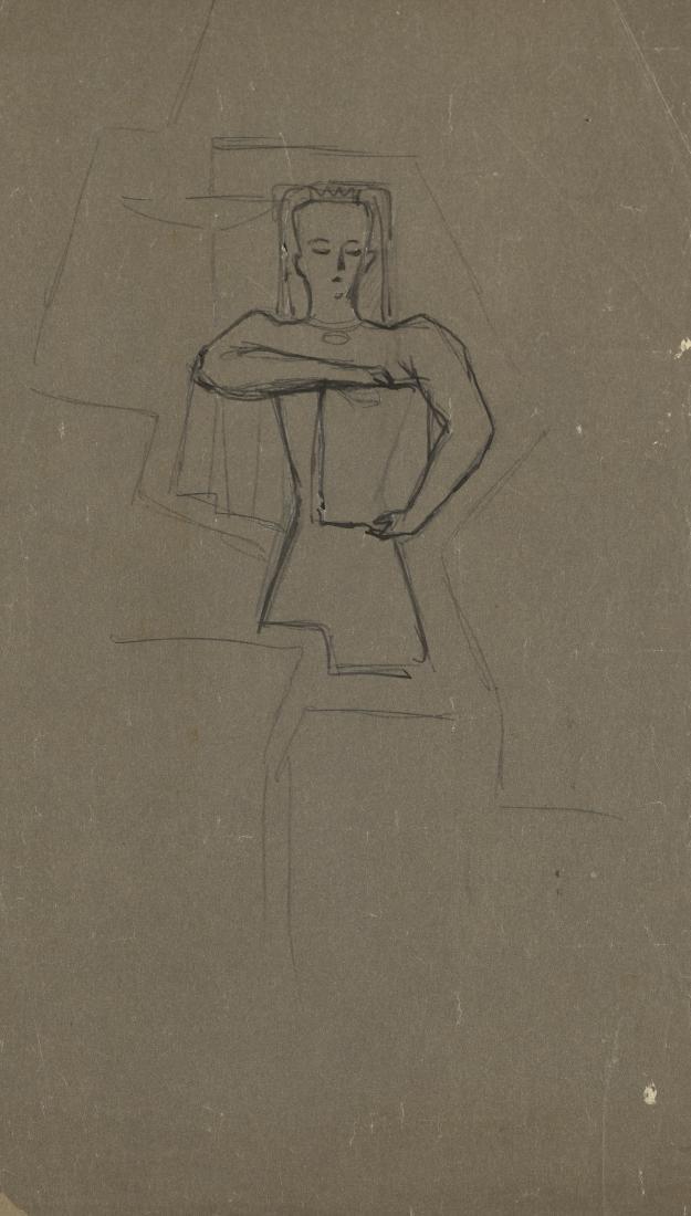 "Gio Ponti (Milano 1891 - Milano 1979)""Figura"