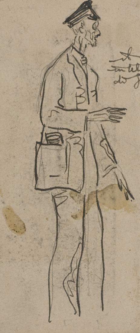 "Gio Ponti (Milano 1891 - Milano 1979)""Uomo in"